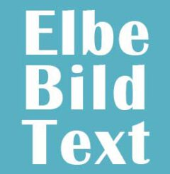 Elbe-Bild-Text Hamburg
